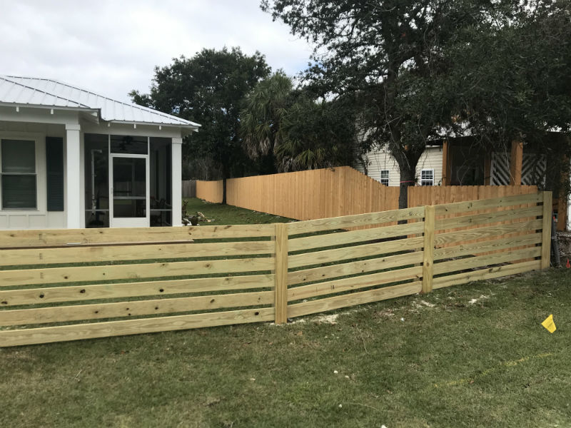 Custom Fence in Pensacola