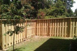 Wooden cantonment deck