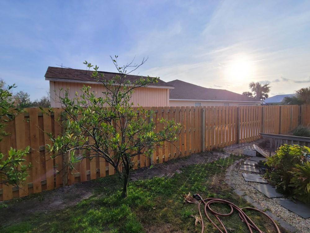 Beautiful Shadow Box Fence