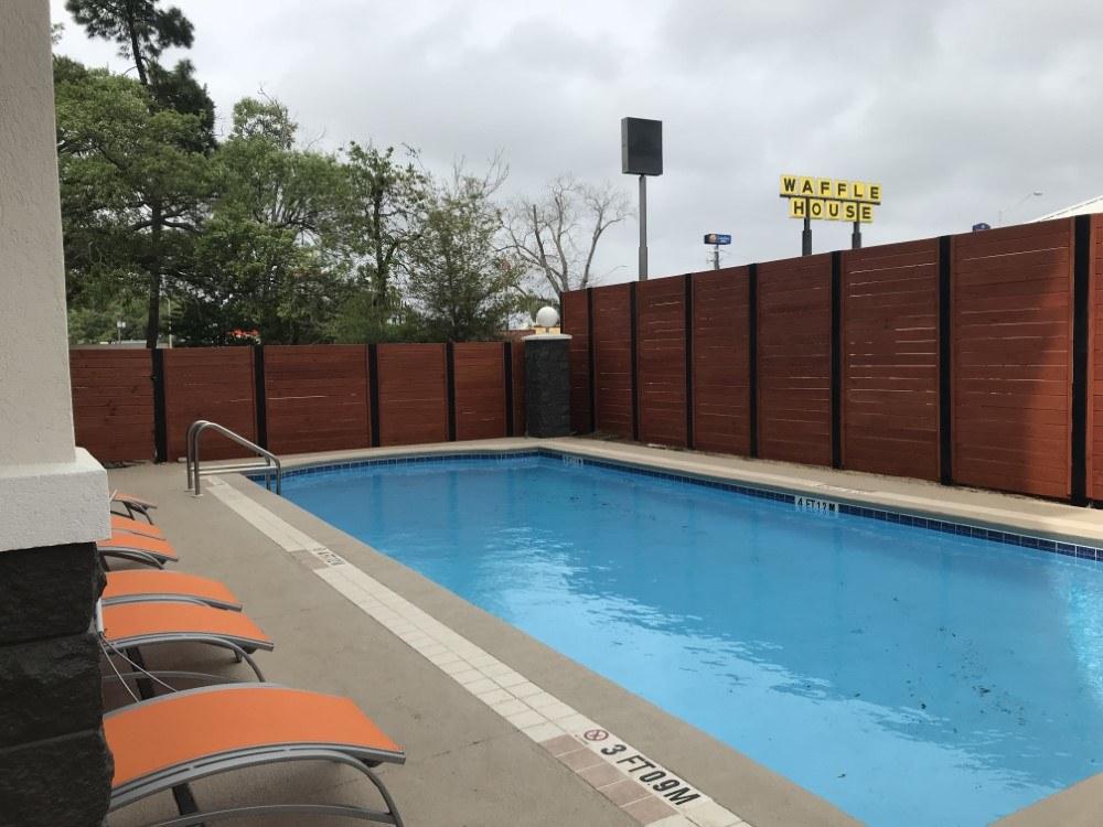 Custom Horizontal Fence Project Pensacola Fence Construction