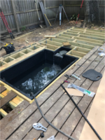 Deck, Koi Pond, and Gazebo Project